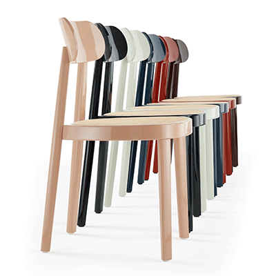 Sedie Thonet A Palermo.In Brilliant Form The Wooden Chair 118 Fuorisalone Magazine