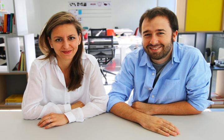 Marco Mari e Carlotta Borruto
